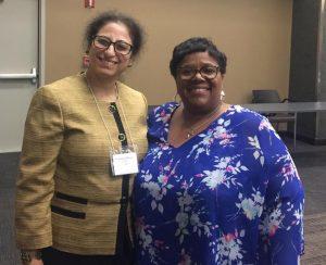 Dr. B with Judge Lela Mays