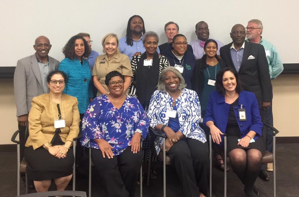 Panelists from Judge Lela Mays' Honest Talk